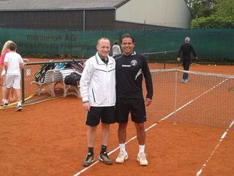 Andreas Prause und Luis Elias