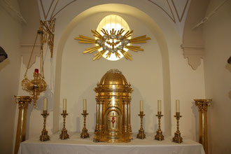 Altar Santísimo Sacramento