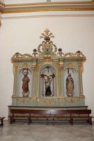 Altar San Luis Gonzaga