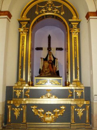 Altar Virgen de la Piedad