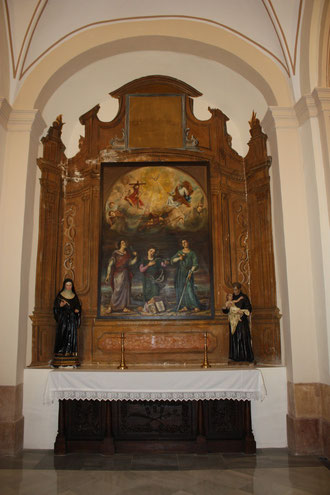 Altar Santas Mártires