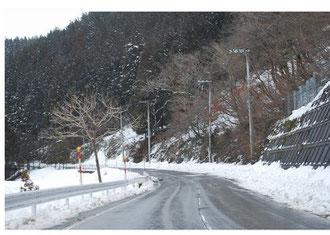 雪道走行の危険