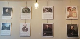 Русские писатели в Риме, фото