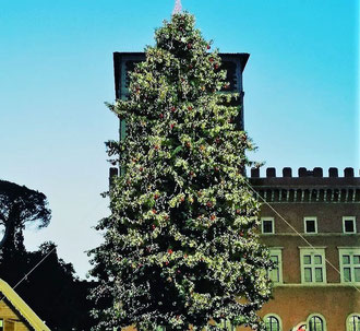 Новый год в Риме, фото