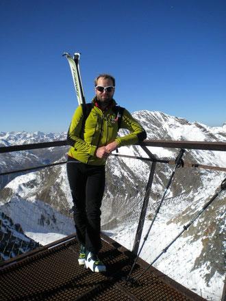 """Nach 12h auf dem """"Top of Tyrol"""""""