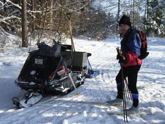 Die letzten Skitage 2005