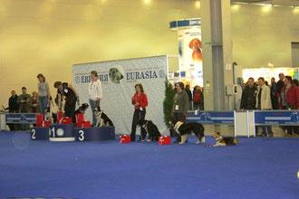 Призеры Обидиенс на Евразии2010