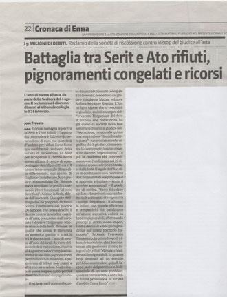 Giornale di Sicilia - Sabato 4 febbraio 2012