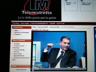 """Tele Mistretta - Trasmissione """"Torre di controllo"""" del 24 aprile 2012"""