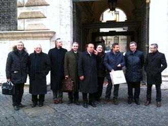 Roma, via Arenula-Ministero di Giustizia 8 febbraio 2012