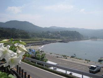 遠藤さん宅からの風景