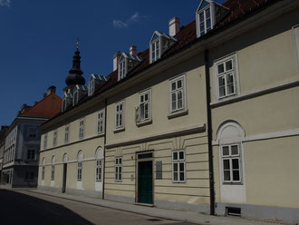 Altes Bügerspital im Hintergrund der Dom