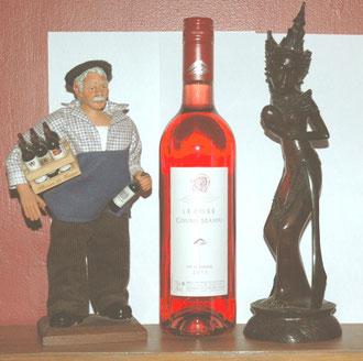 Le bougnat et la danseuse balinaise vous présentent le Rosé 2011