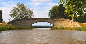 Le pont avant Argeliers, au retour