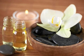 Massage mit Traubenkernöl