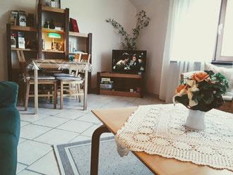 Großes Wohnzimmer für 7 Pers. mit TV
