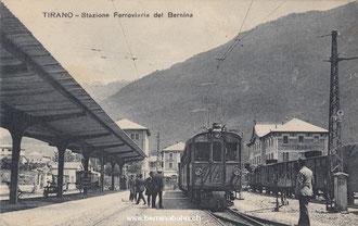 590-001 Verlag: Tip. e Cartoleria Fiorentini & Redaelli, Tirano. Karte ungelaufen