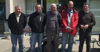 Bernard Cozien, Rémy Kerleroux,Christian Ladan,Robert Humily,Robert Kerhaignon