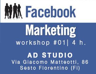 workshop marketing su facebook e social network, AD STUDIO, Alberto Desirò, Vanessa Gemma
