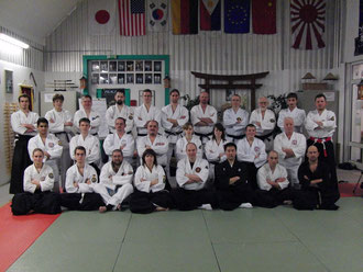 Teilnehmer des Seminar mi Osano Shihan