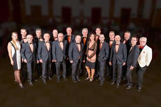 Das Danube Swing Orchestra und Petra Breith gastieren am 27. Juli 2013, um 19.30 Uhr, im Hof des Kultur- und Gemeindehauses Rohrendorf. Weinbauverein und Kulturgstettn Rohren-dorf sorgen für das leibliche Wohl.