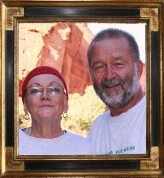 Hannelore Büttig und Andreas Büttig geb. Höhne (Kings Canyon-Australia)