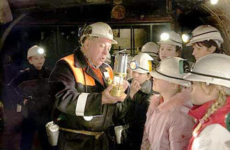 underground tour at Big Pit / courtesy of Photolibrary Wales