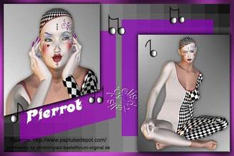 Pierrot, Schatten ohne Vignette