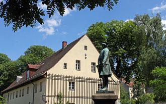 Der Soldatenkönig Friedrich Wilhelm I. vor dem Böhmischen Museum