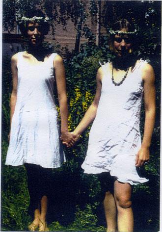 1991, kennengelernt haben wir uns bei den Proben zum Musical Hair