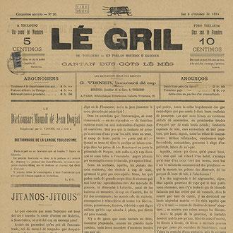 Lé Gril - parution de 1895