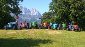 Am Hollenauer Kreuz in Going Juli 2013