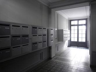 Rénovation hall d'entrée et boîte à lettres, 2014