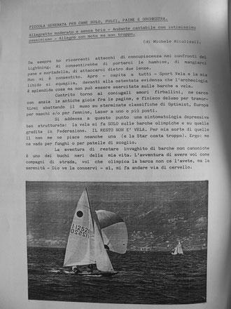 Il Papello - nella foto la barca di Classe ITA12520
