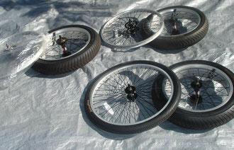 OCC Stingray wheels, tire, tubes