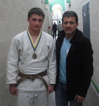 Nicolas et son prof Alberto Ramos