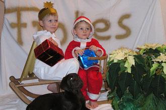 Erste Weihnachten mit Tami im Jahr 2007