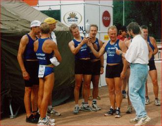 Siegerteam der Senioren Kronen Liga