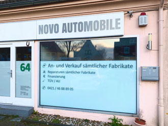 Novo Automobile GmbH  Kattenturmer Heerstr. 64  28277 Bremen  Bremen Obervieland