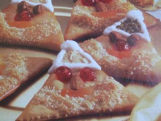 Photo et recette de mon livre La Pâtisserie facile