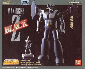 Soul of Chogokin Mazinga Z Black GX-01B