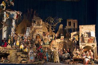 Tipica scena nel Presepe Napoletano