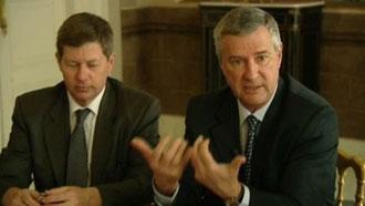 """Patrick Strzoda (à droite) : """" Ma feuille de route est claire"""""""