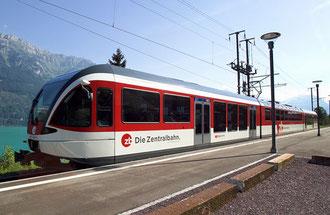 Die neuen Züge der Zentralbahn (Quelle: Glasi.ch)