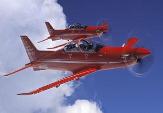 PC-21 der Nidwaldner Pilatus Flugzeugwerke (Quelle: Luftfahrt.ch)