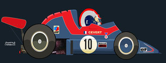Helmet of François Cevert by Muneta & Cerracín