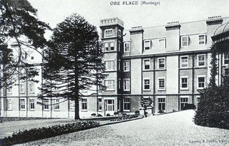 Ore Place, Hastings, where Pere Teilhard studied theology from 1908 to 1912, and was ordained priest.