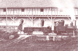 Foto: Turmmuseeum Mengerskirchen   ca 1900  Lok3 Dachs