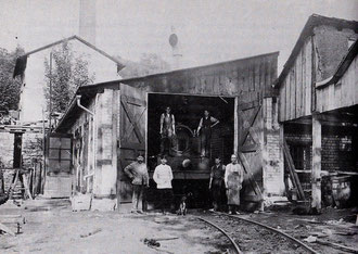 Werkstatt Christianshütte um 1900