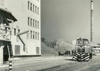 Lok18 in Anschl. Steedener Kalkwerke